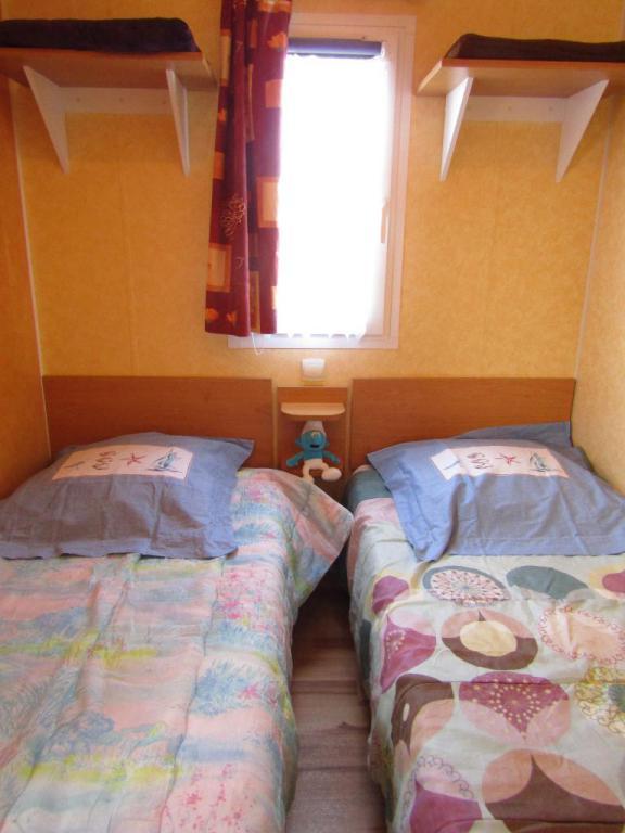 chambre mobil-home camping le bois collin